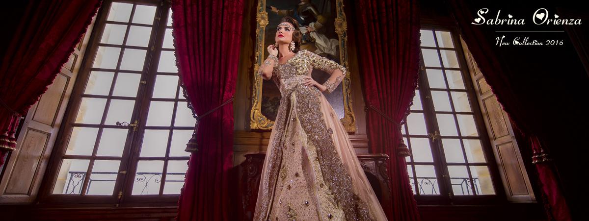 Nouvelle collection Robes mariées orientales - Negafa Sabrina Orienza